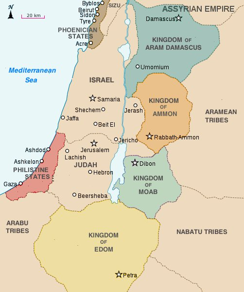 assyria israel and phoenicia