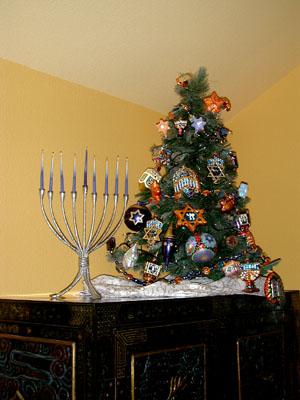 The Jewish Christmas Tree or 'Hanukkah Bush'