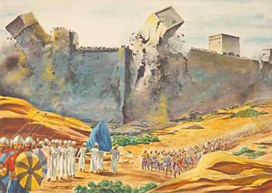 Bildergebnis für the fall of jericho images